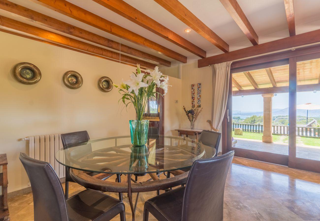 Gîte Rural à Alcudia - Carros Bay Watch, Finca 5StarsHome Mallorca